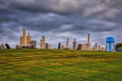 Photograph - Hilltop Graveyard by John M Bailey