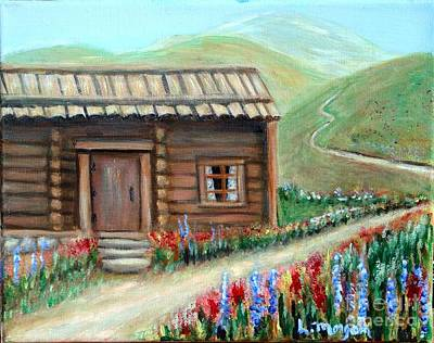 Painting - Hilltop Homestead by Laurie Morgan