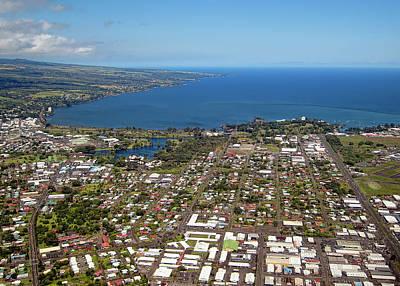 Hilo Town Photograph - Hilo City Hawaii by Daniel Hagerman