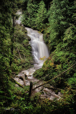 Photograph - Hilt Creek Falls by Charlie Duncan
