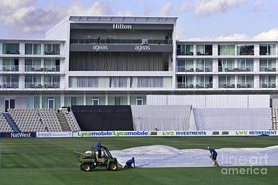 Photograph - Hilton Ageas Cricket by Terri Waters