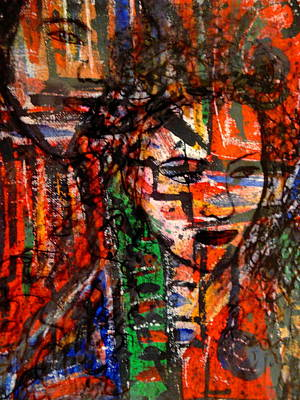 Couple Mixed Media - Him And Her by Natalie Holland