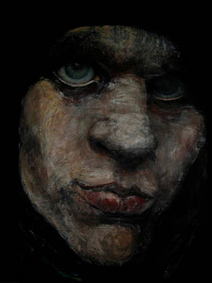 Ville Valo Painting - Him In The Shadow by Safir  Rifas