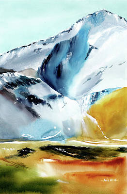 Painting - Himalaya 5 by Anil Nene