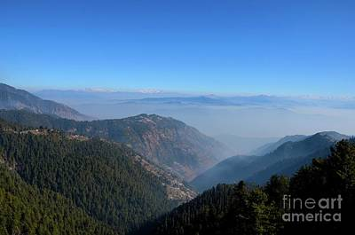 Photograph - Himalaya Mountain Peaks Seen On Road Between Murree And Nathia Gali North Pakistan by Imran Ahmed