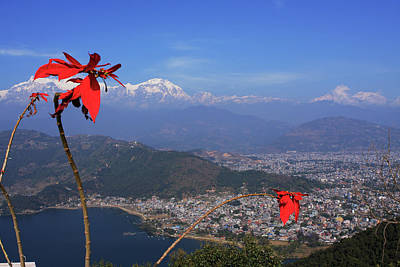 Photograph - Himalayan City Of Pokhara by Aidan Moran