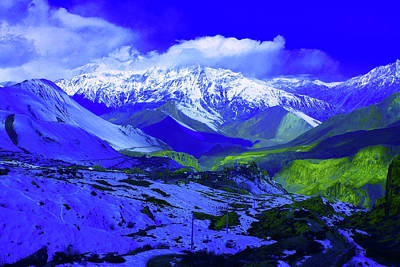 Photograph - Himalayan Mountain Dream by Aidan Moran