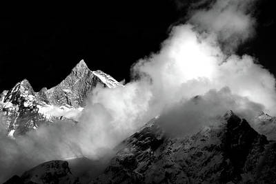 Photograph - Himalayan Mountain Peak by Aidan Moran