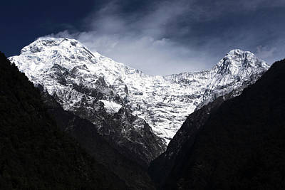 Photograph - Himalayan Mountain Peaks by Aidan Moran