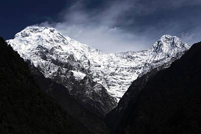 Photograph - Himalayan Mountain Peaks by Aidan Moran