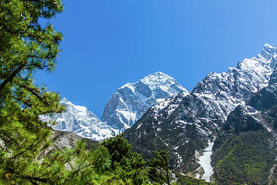 Photograph - Himalayan Peak by Nila Newsom