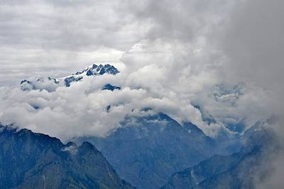 Photograph - Himalayan View From Auli India by Kim Bemis