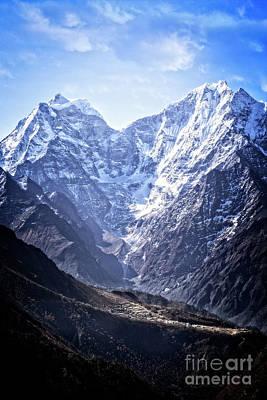 Photograph - Himalayan Village by Scott Kemper