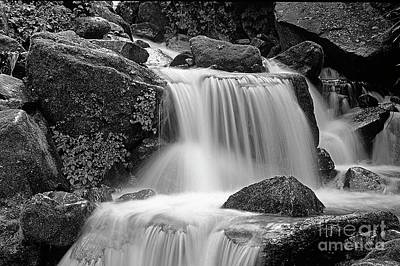Photograph - Himalayan Waterfall - Nepal by Craig Lovell