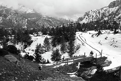 Photograph - Himalayan Winter Landscape by Aidan Moran
