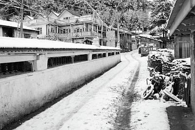 Photograph - Himalayan Winter Scene by Aidan Moran