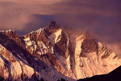 Himalayas At Sunset Art Print