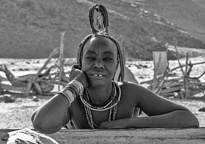 Photograph - Himba Portrait 2 by Rand