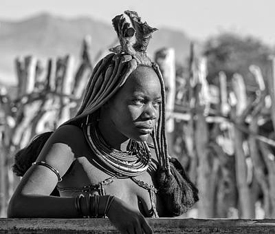 Photograph - Himba Portrait by Rand