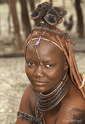 Photograph - Himba Woman by Fran Gallogly