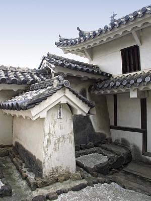 Himeji Castle Roofs And Gables - Japan Art Print by Daniel Hagerman