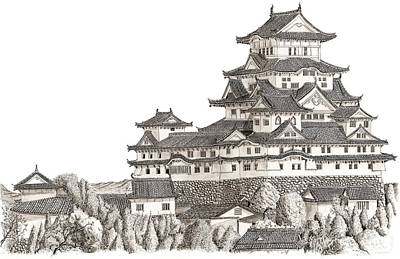 Himeji Castle Original by Scott Moore
