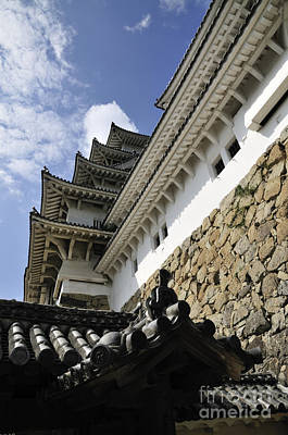 Castle Photograph - Himeji Castle Tower by Andy Smy