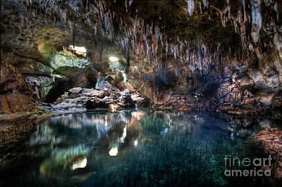 Photograph - Hinagdanan Cave by Yhun Suarez