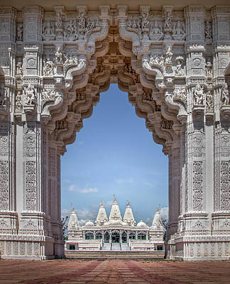 Photograph - Hindu Architecture by James Woody