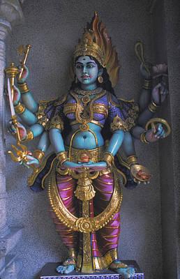 Photograph - Hindu Goddess Lakshmi In Singapore by Carl Purcell