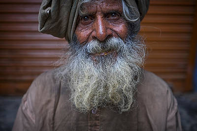Photograph - Hindu Man by David Longstreath