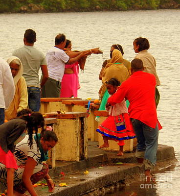 Photograph - Hindu Offering 2 by John Potts