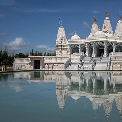 Photograph - Hindu Temple by James Woody