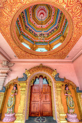 Photograph - Hindu Temple by Nadia Sanowar
