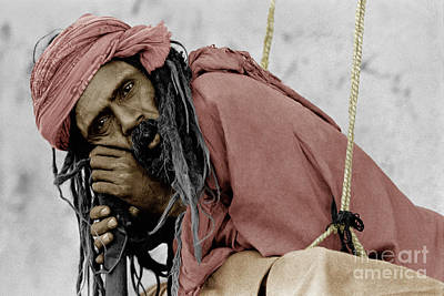 Photograph - Hindustani Saddhu - Pushkar, India by Craig Lovell