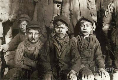Hine: Breaker Boys, 1911 Art Print by Granger