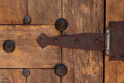 Photograph - Hinges And Locks - 2 by Hany J
