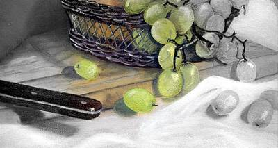 Painting - Hint Of Color by Penny Everhart