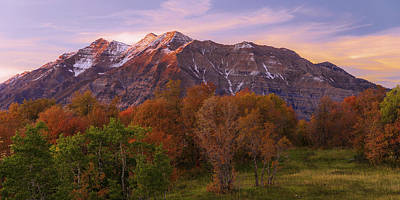 Wasatch Mountains Photograph - Hint Of Fall by Chad Dutson