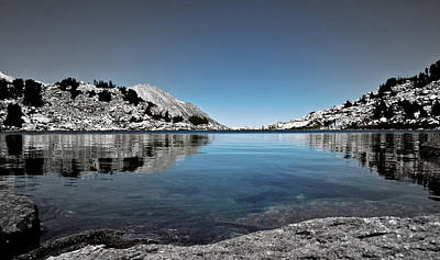 Turquoise Lake Photograph - Hint Of Treasure by Chris Brannen