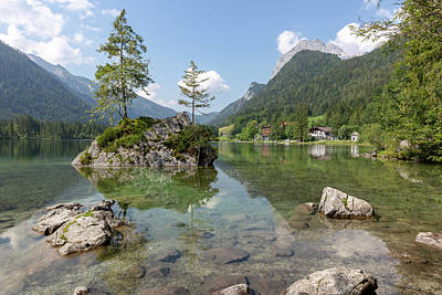 Photograph - Hintersee, Bavaria by Andreas Levi