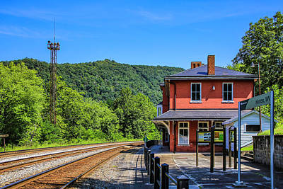 Photograph - Hinton West Virginia Depot by Bluemoonistic Images