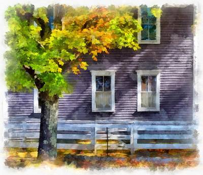 Photograph - Hints Of Fall by Tricia Marchlik
