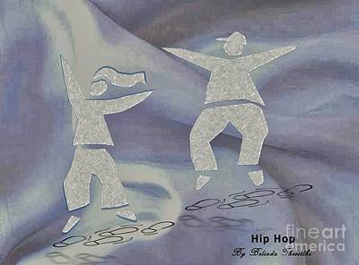Hip Drawing - Hip Hop by Belinda Threeths