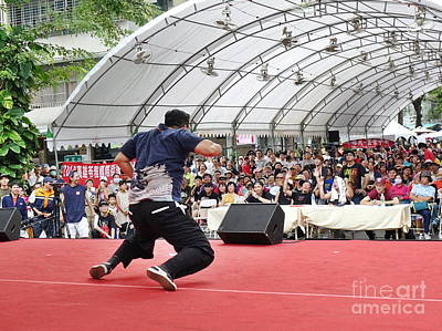 Photograph - Hip-hop Dance Competition by Yali Shi