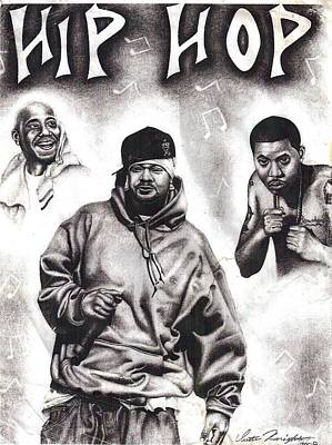 Drawing - Hip Hop by Dustin Knighton