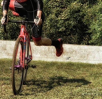 Bicycle Photograph - Hip Hop  by Steven Digman