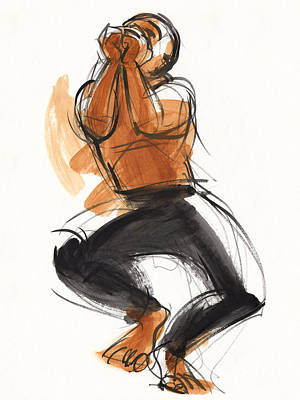 Painting - Hiphop Dancer by Judith Kunzle