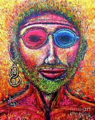 Painting - Hippie H2 by Viktor Lazarev