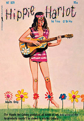 Painting - Hippie Harlot by Unknown Artist